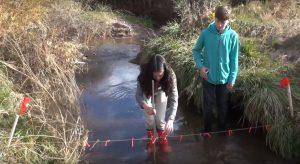 stream flow depth